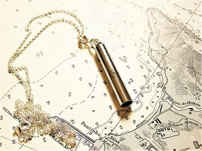 Travellers Cross Whistle necklace