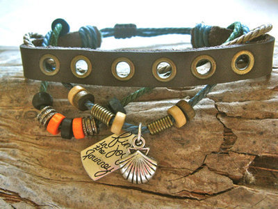 Camino bracelet - scallop shell NaturalSoul ~ find joy