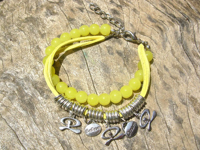 Indalo bracelet ~ citrus crush, believe + dream