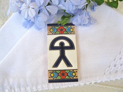 Spanish ceramic Indalo tile - small