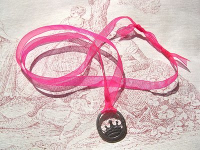 PRINCESS Necklace - pewter
