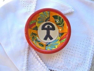 Spanish tapas bowl ~ Indalo, russet