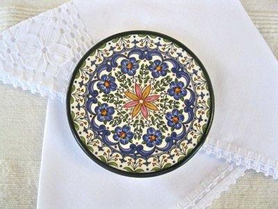 Spanish Plate ~ floral Granada