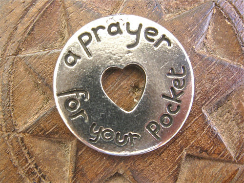 Prayer token - a PRAYER for hope