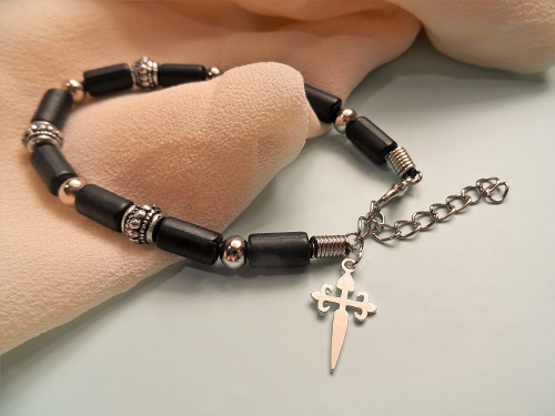 Cruz de Santiago / Cross of St James bracelet PLS01196