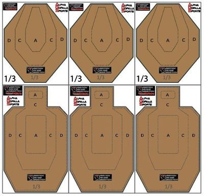 Match Mode Dry Fire Travel Set - USPSA/IPSC