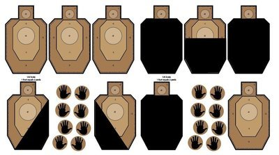 IDPA Dry Fire Wall Decals