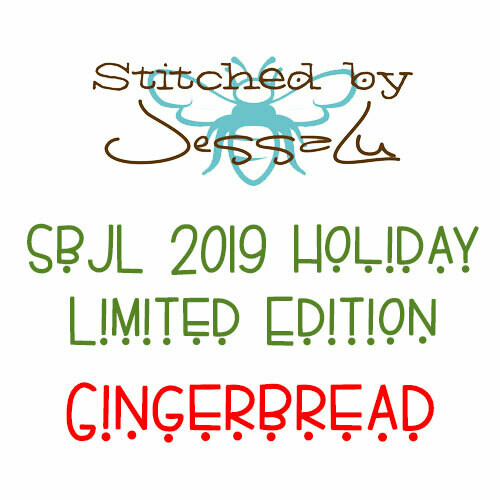 SbJL Limited Edition - 2019 Holiday Surprise- Gingerbread!