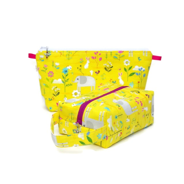 Lucky Elephants & Friends - Regular Box Bag
