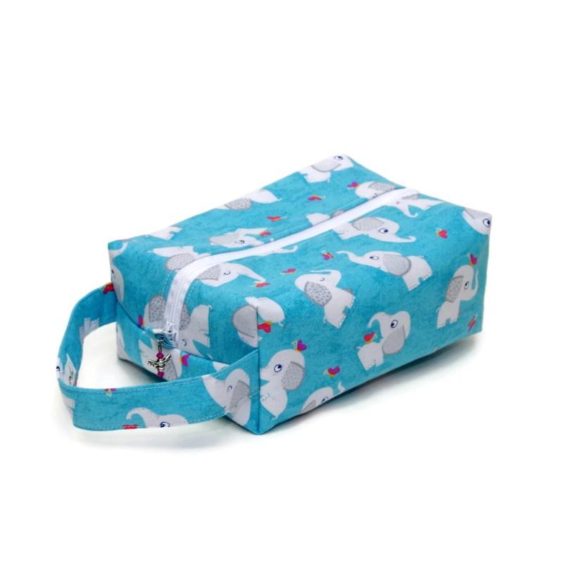 Grey Elephants - Regular Box Bag GreyElephants-00036