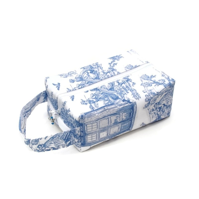 Whovian - Dalek Toile - Regular Box Bag DalekToile-RB