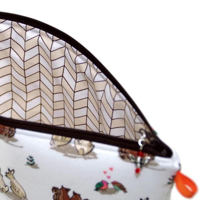 Woodland Romance - Regular Wedge Bag
