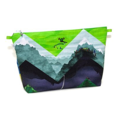 There and Back Again - Large Wedge Bag