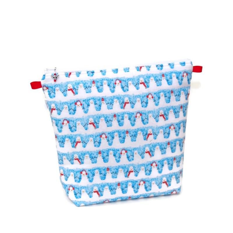 Snowmen - Tall Wedge Bag Snowmen-TW