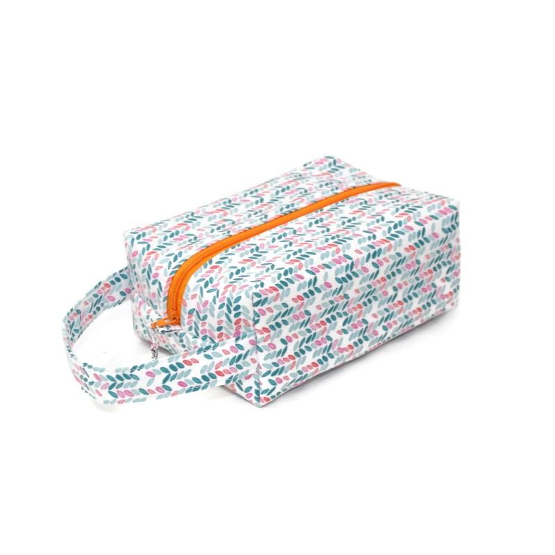 Knit Stitch in Aqua- Regular Box Bag KSAqua-RB