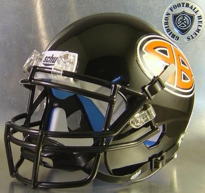 Burkburnett Bulldogs High School 2015 (TX) (mini-helmet)