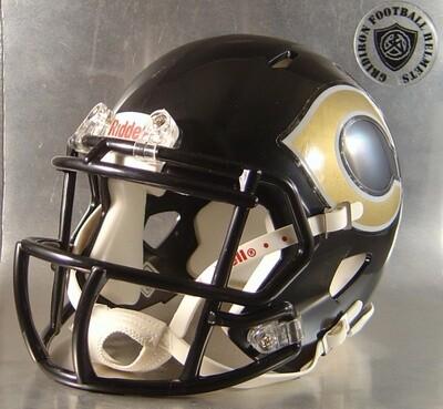 Crawford Pirates HS TX 2006-2016 (mini-helmet)