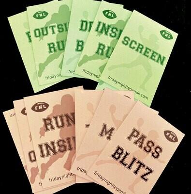OFF & DEF card set
