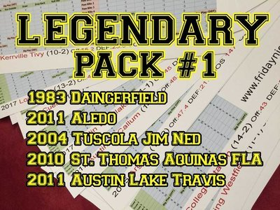 Legendary Pack #1
