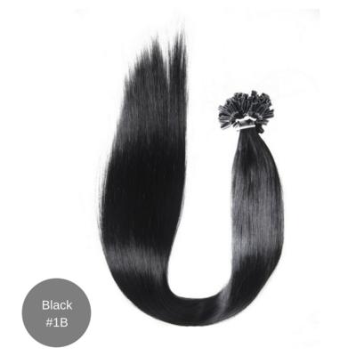 Micro Hair Extensions 18' Black 1B (10 Strand Bundle)