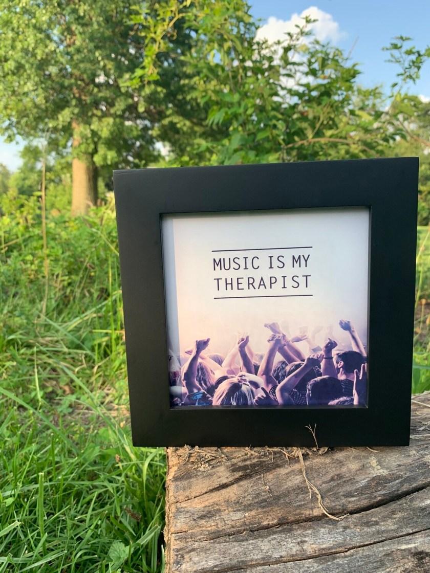 | music is my therapist |