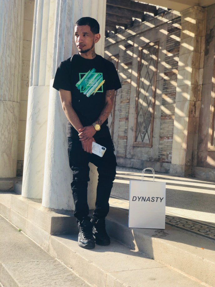 DYNASTY Color Out The Box Shirt ( Black)