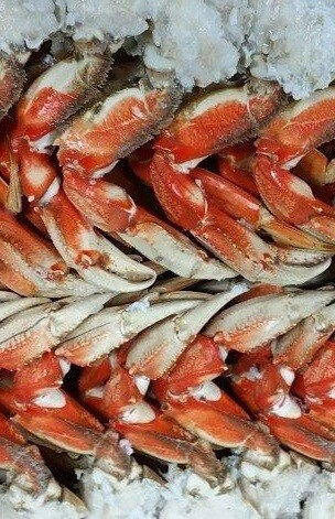 Dungeness Crab Sections (Two 7 lb Boxes)
