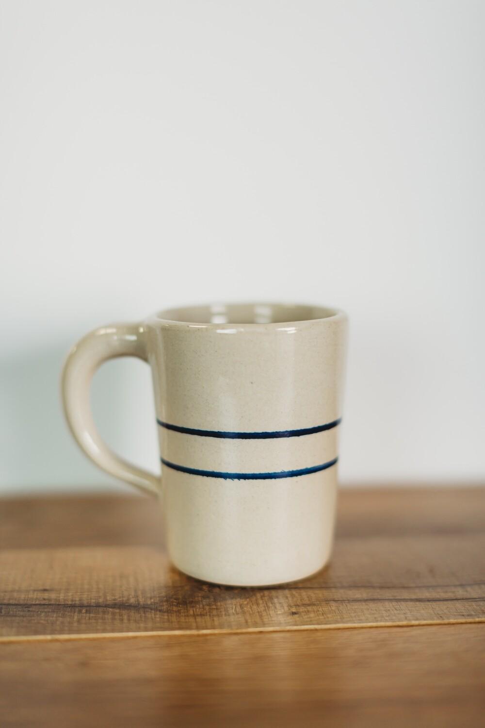 Tumbler Mug Blue Stripe