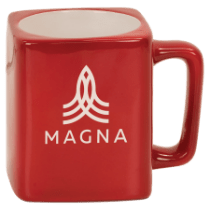 8oz Square Ceramic Mug