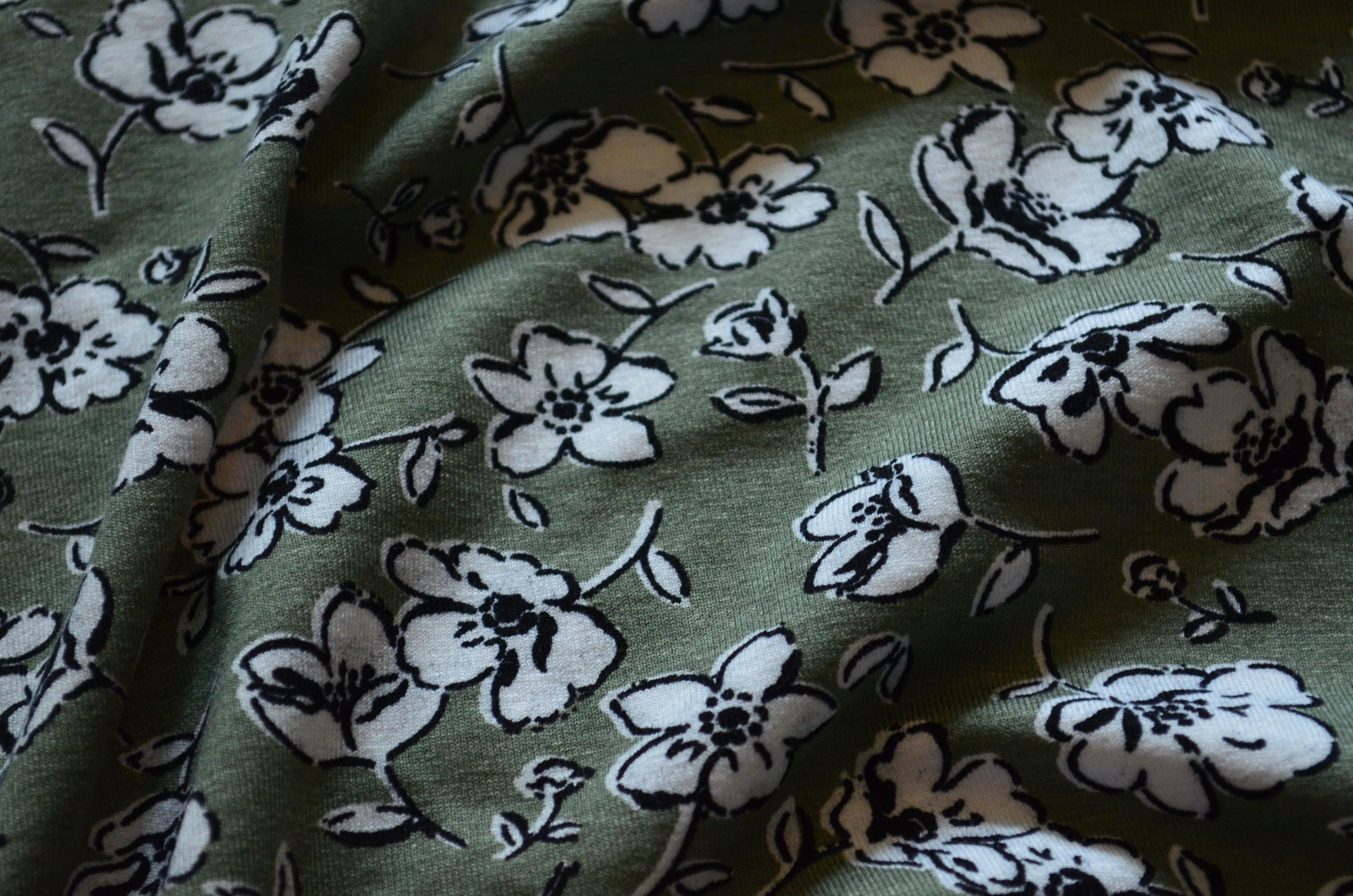 Rayon Knit Print 00121