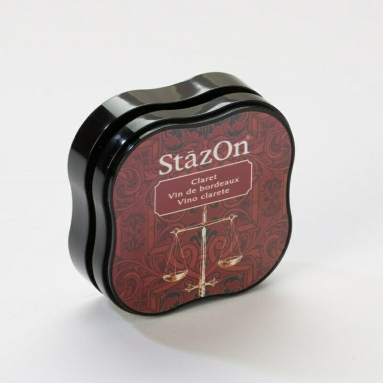 Encreur multi-surface Stazon - Claret