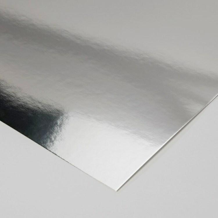 Set de 5 feuilles Miroir - 31,5x30,5cm