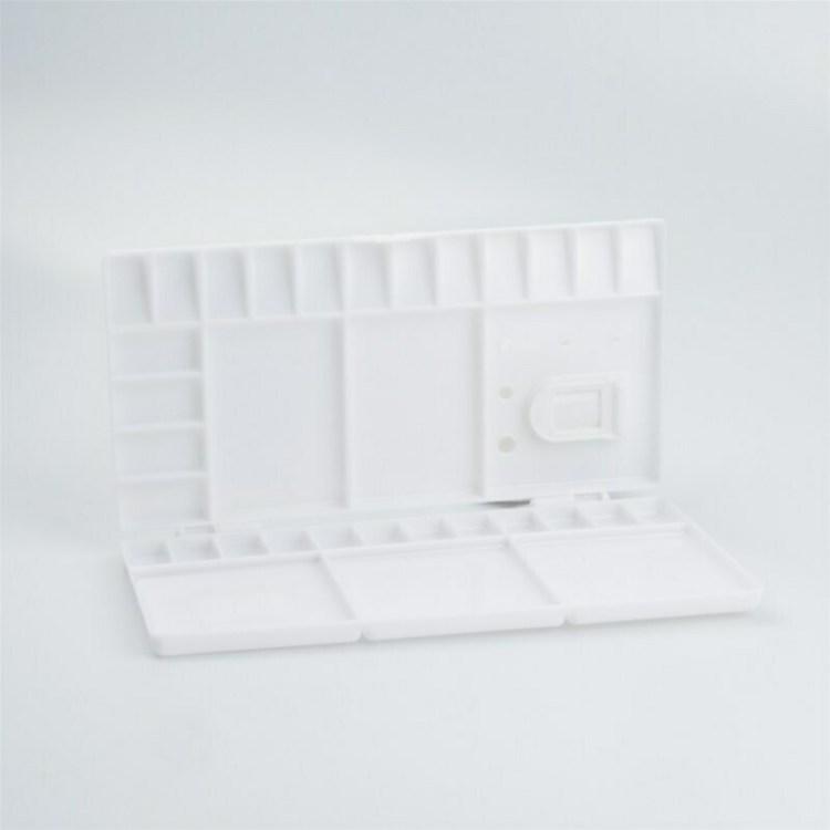 Palette pliable en plastique pour aquarelle