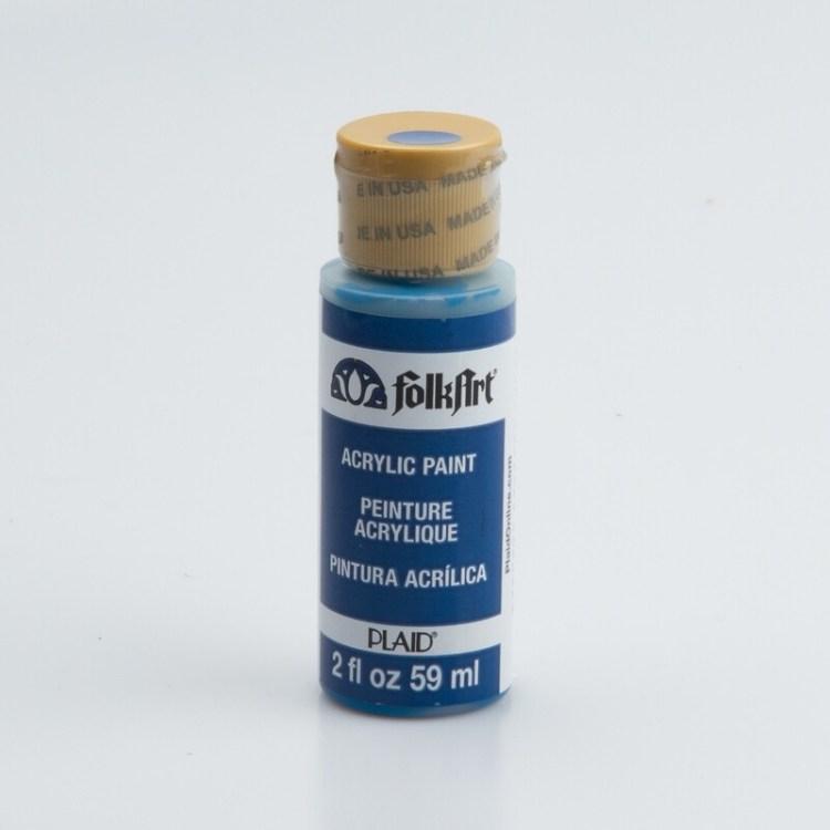 Peinture acrylique mat FolkArt Plaid 59 ml - Blue Willow