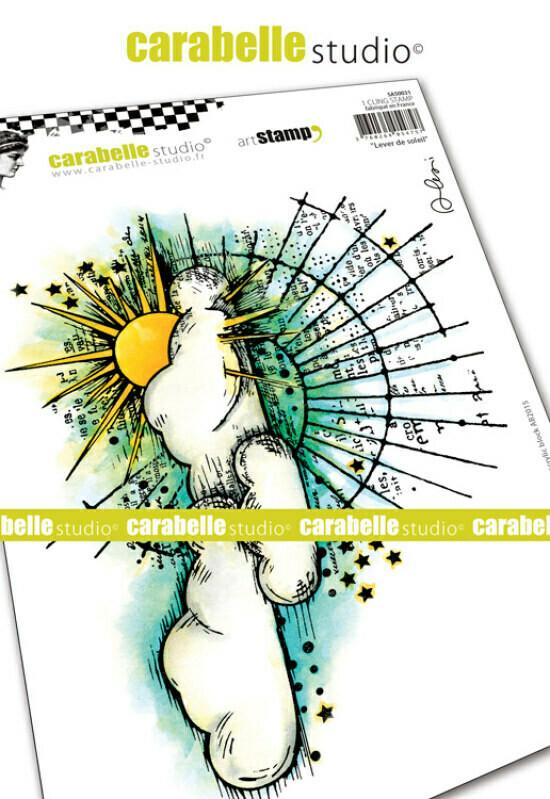 Set de tampons cling A5 - Lever de soleil by Alexi - 20x15cm