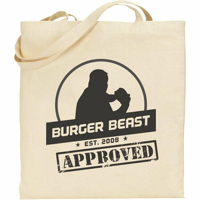 Burger Beast Tote Bag