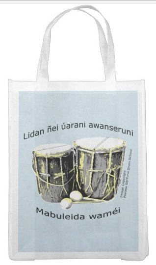 Proud Garinagu Reusable Shopping Bag 00020
