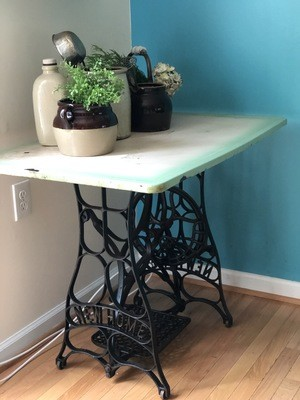 Breakfast Nook Table, Potting table, porch table