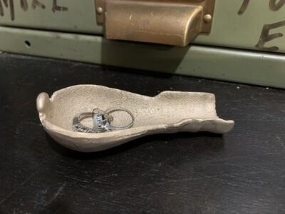 Ring Holder Dish, Wedding Ring Holder, Jewelry Dish