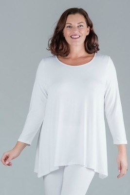 Tess - Long sleeve top - White