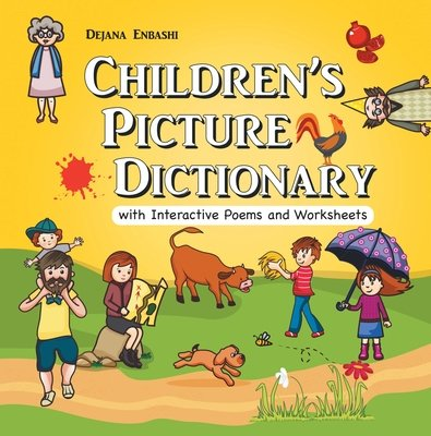Children's Picture Dictionary with Interactive Poems and Worksheets (Paperback)