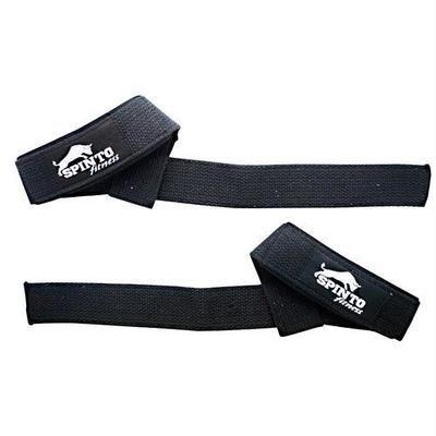 Spinto USA, LLC Padded Wrist Straps Black Cotton