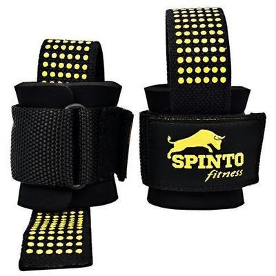 Spinto USA, LLC Heavy Duty Lifting Straps Black