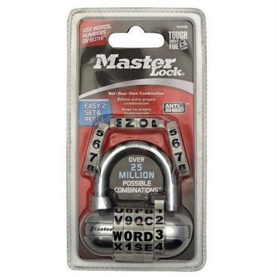 Master Lock Fusion Password Lock