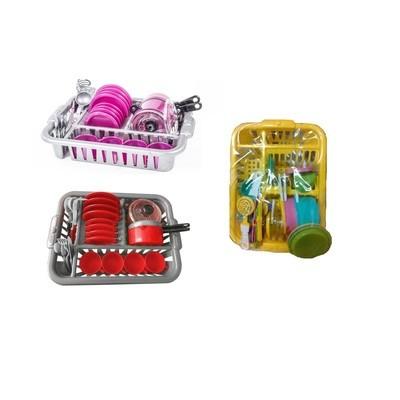 Набор игрушечной посуды Ириска-5 34 предмета Орион 103