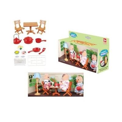 Набор игрушечной мебели для кухни Happy family 012-04B