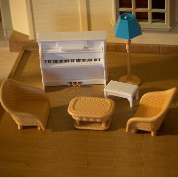 Игровой набор игрушечной мебели Гостиная Happy Family 012-09B