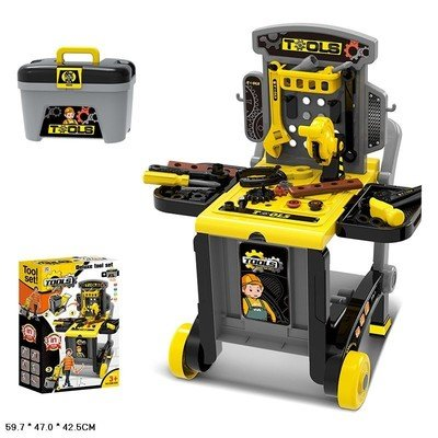 Набор детский чемодан с инструментами Deluxe tool set 3 в 1  Xiong Cheng 008-928