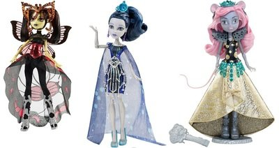 Кукла MONSTER HIGH Новые персонажи из серии BOO YORK в ассортименте Mattel CHW64