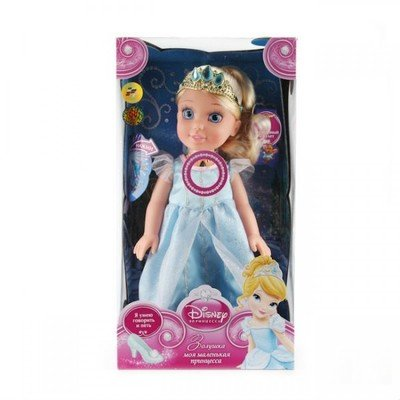 Кукла Принцесса ЗОЛУШКА 37см. Карапуз CIND001